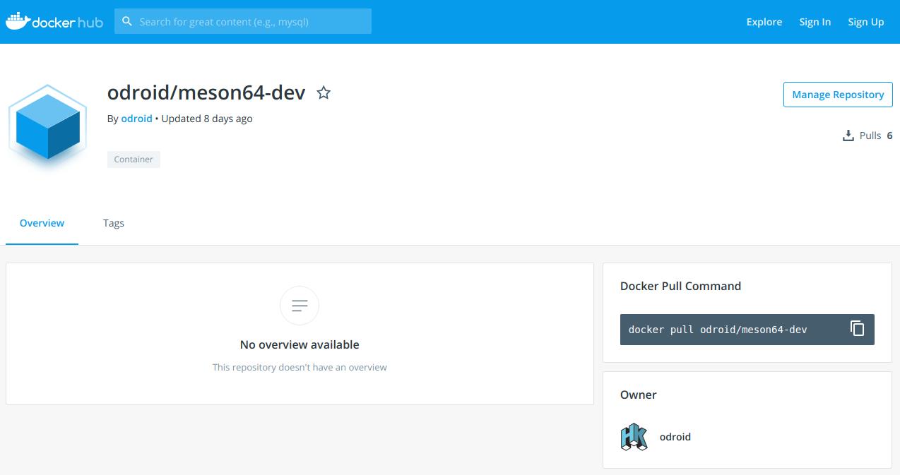 Odroid Xu4 Ubuntu Repository